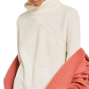 Topshop Diamond Stitch Sweater